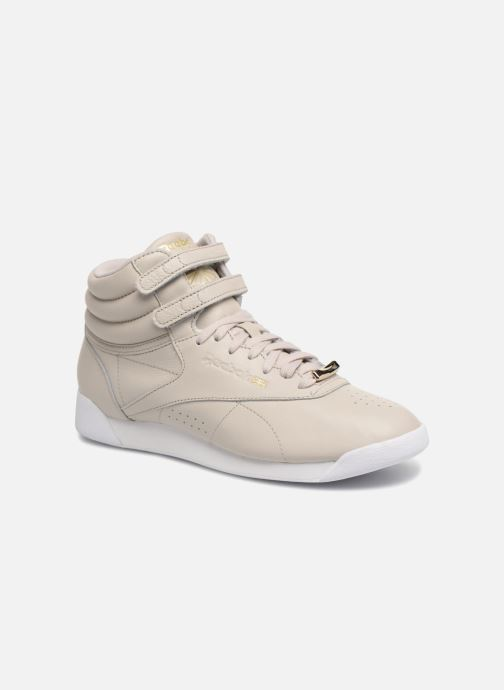 Trainers Reebok Freestyle Hi Muted Grey detailed view/ Pair view