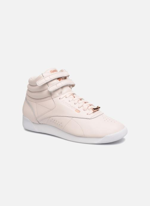 Muted Freestyle Sarenza Baskets Hi Chez 316043 rose Reebok wEnqAB11