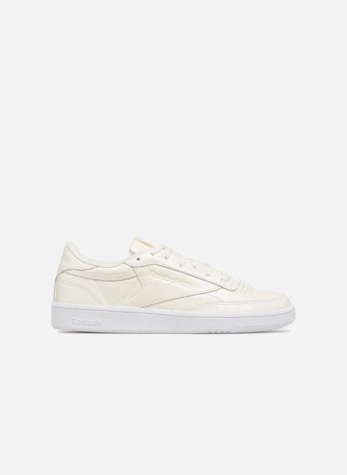 Sneakers Reebok Club C 85 Patent Wit achterkant
