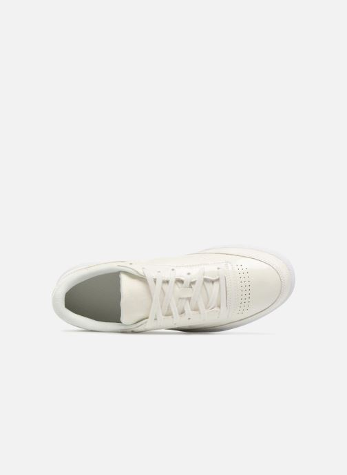 Sneakers Reebok Club C 85 Patent Wit links