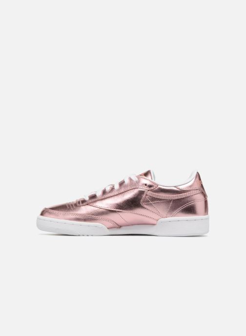 Trainers Reebok Club C 85 S Shine Pink front view