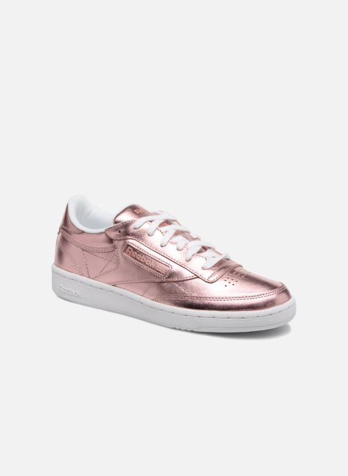 Trainers Reebok Club C 85 S Shine Pink detailed view/ Pair view