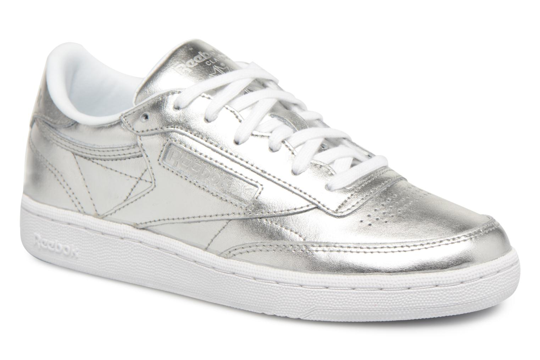 Club 85 S Silver C Shine Reebok white aqdxEwfO