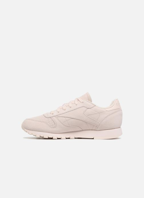 Trainers Reebok Classic Leather Nbk Pink front view
