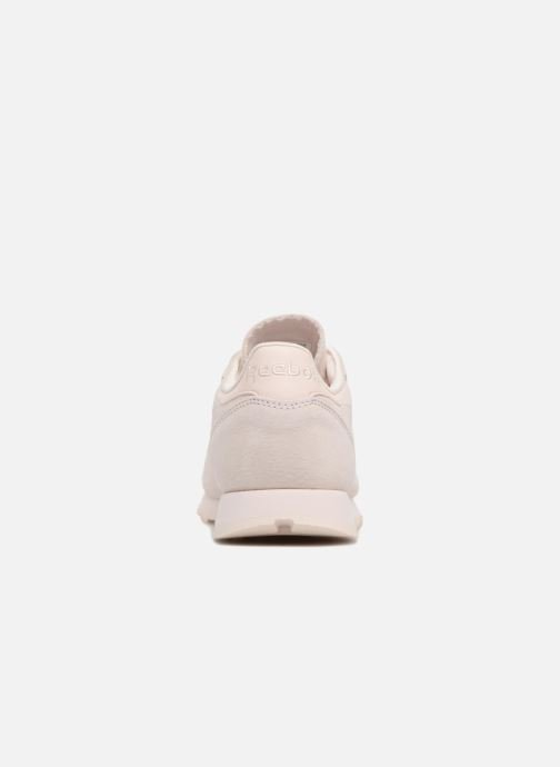 Trainers Reebok Classic Leather Nbk Pink view from the right
