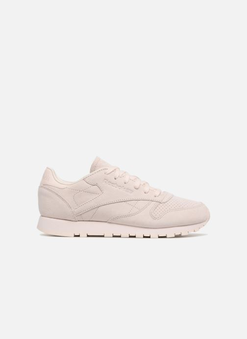 Trainers Reebok Classic Leather Nbk Pink back view