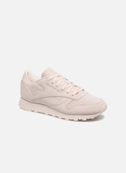 Trainers Reebok Classic Leather Nbk Pink detailed view/ Pair view