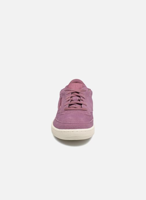 Trainers Reebok Club C 85 Montana Cans Collaboration Purple model view