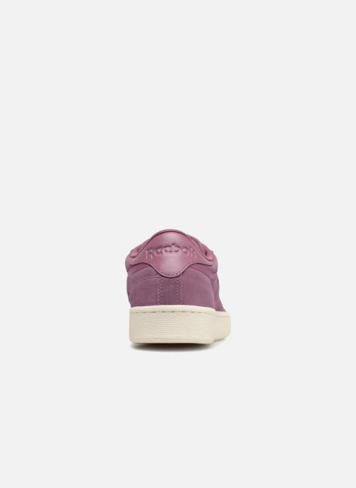 Baskets Reebok Club C 85 Montana Cans Collaboration Violet vue droite