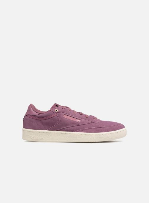 Baskets Reebok Club C 85 Montana Cans Collaboration Violet vue derrière