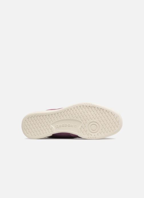 Trainers Reebok Club C 85 Montana Cans Collaboration Purple view from above