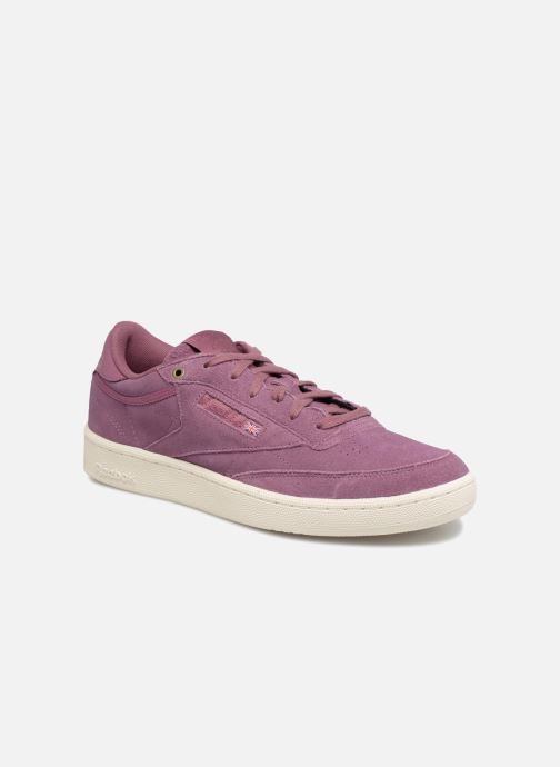 13835c913f0 Trainers Reebok Club C 85 Montana Cans Collaboration Purple detailed view   Pair view