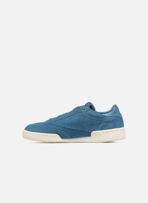 Trainers Reebok Club C 85 Montana Cans Collaboration Blue front view