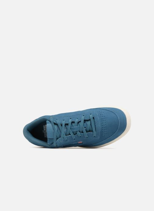 Trainers Reebok Club C 85 Montana Cans Collaboration Blue view from the left