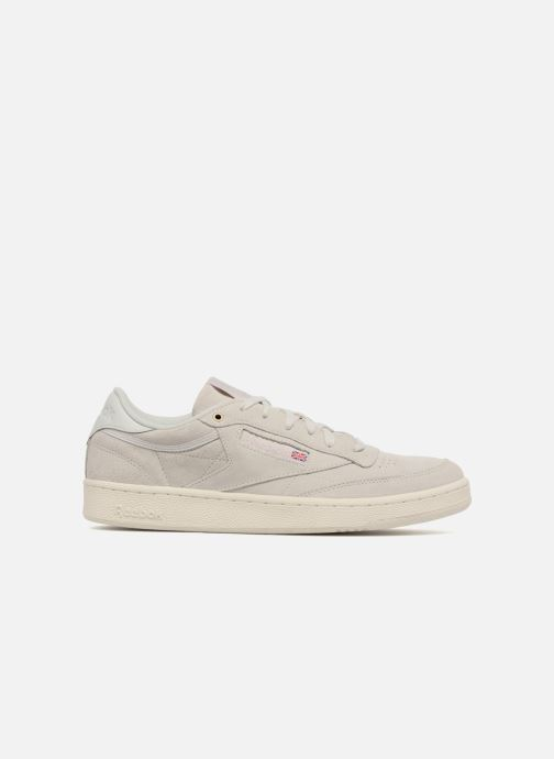 Sneakers Reebok Club C 85 Montana Cans Collaboration Grijs achterkant