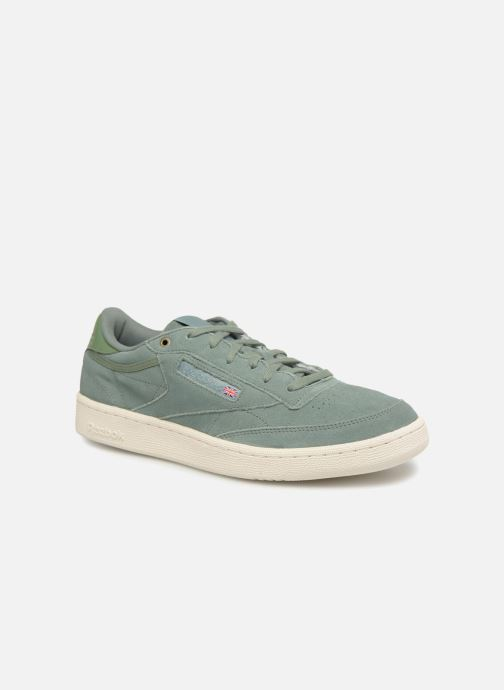 599b58c0e2c Trainers Reebok Club C 85 Montana Cans Collaboration Green detailed view   Pair view