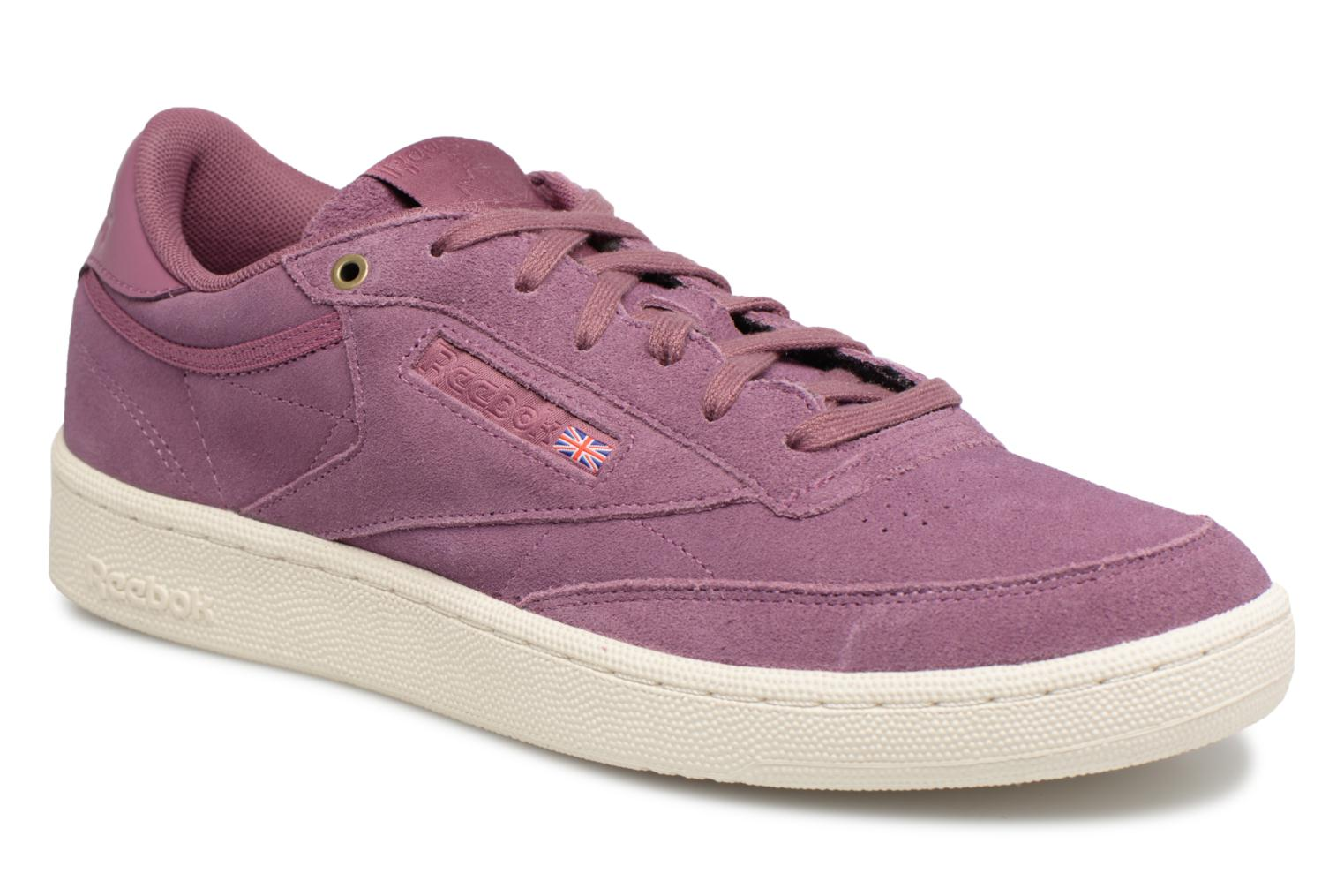 9a9067898e4b2 ... Trainers Reebok Club C 85 Montana Cans Collaboration Purple detailed  view Pair view  womens ...