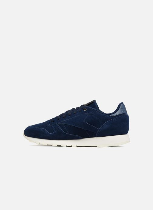 Trainers Reebok ClassicLeather Mcc Blue front view