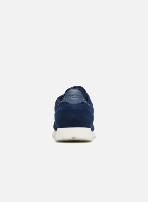 Trainers Reebok ClassicLeather Mcc Blue view from the right