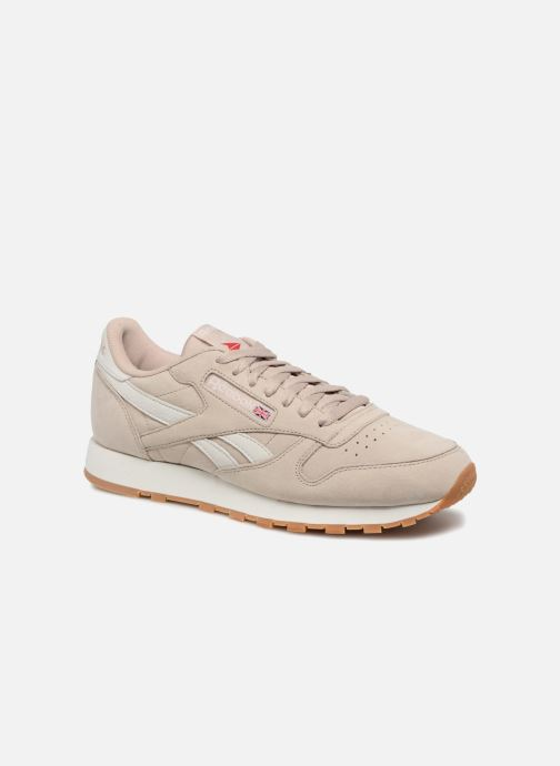07a8054371d3bf Trainers Reebok ClassicLeather Tl Beige detailed view  Pair view