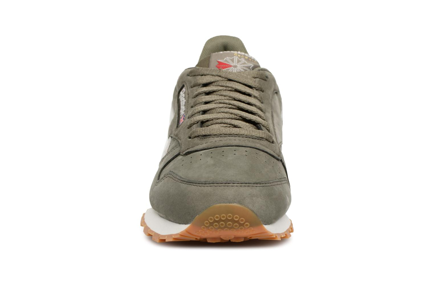 Baskets Reebok ClassicLeather Tl Vert vue portées chaussures