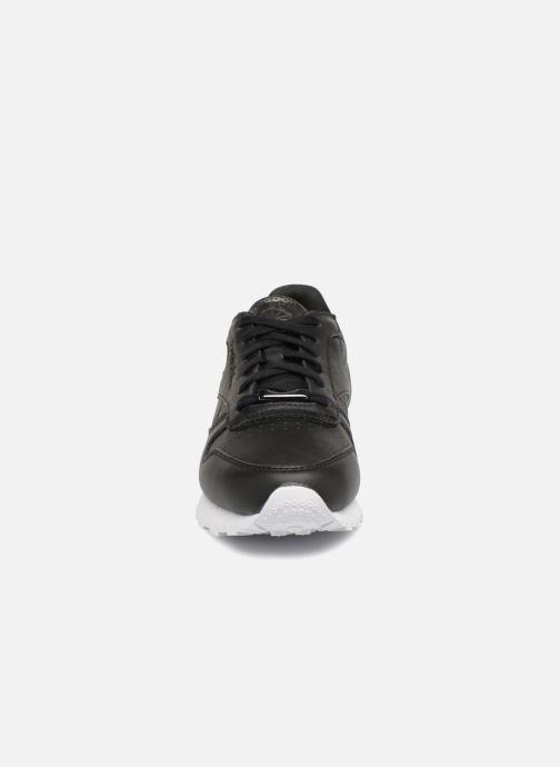 Sneaker Reebok ClassicLeather Hw schwarz schuhe getragen