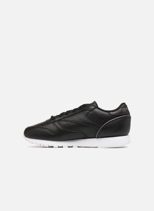 Sneaker Reebok ClassicLeather Hw schwarz ansicht von vorne