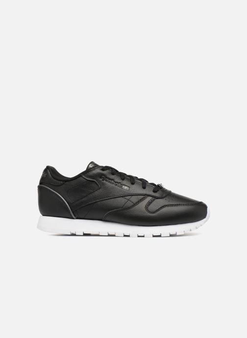 Sneaker Reebok ClassicLeather Hw schwarz ansicht von hinten