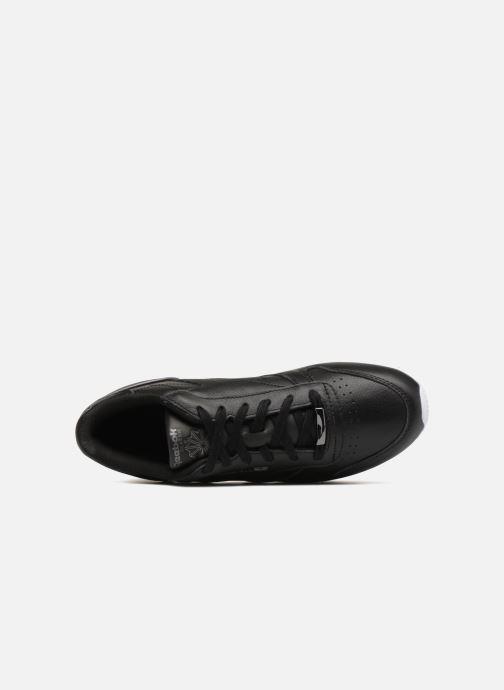 Sneaker Reebok ClassicLeather Hw schwarz ansicht von links