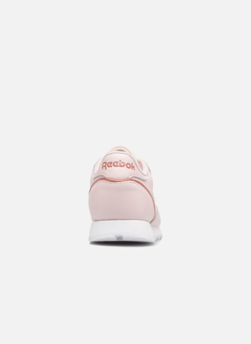 Baskets Reebok ClassicLeather Hw Rose vue droite