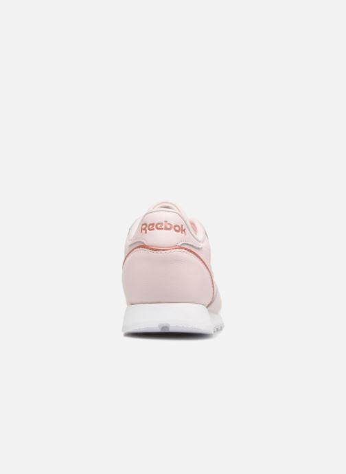 Sneakers Reebok ClassicLeather Hw Rosa immagine destra