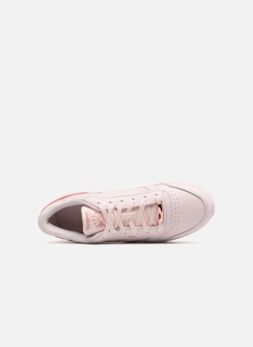 Sneaker Reebok ClassicLeather Hw rosa ansicht von links
