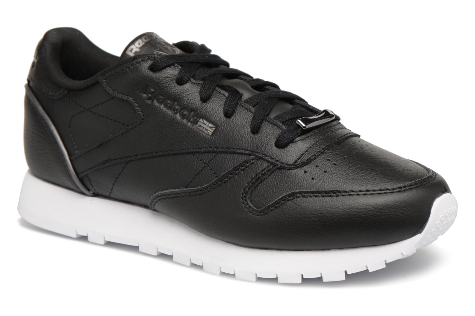 Black Classicleather Met Reebok white Hw silver RfqZwgF