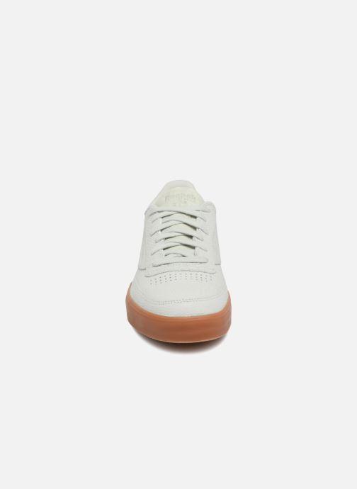 Baskets Reebok Club C 85 Fvs Ps Desert Vert vue portées chaussures