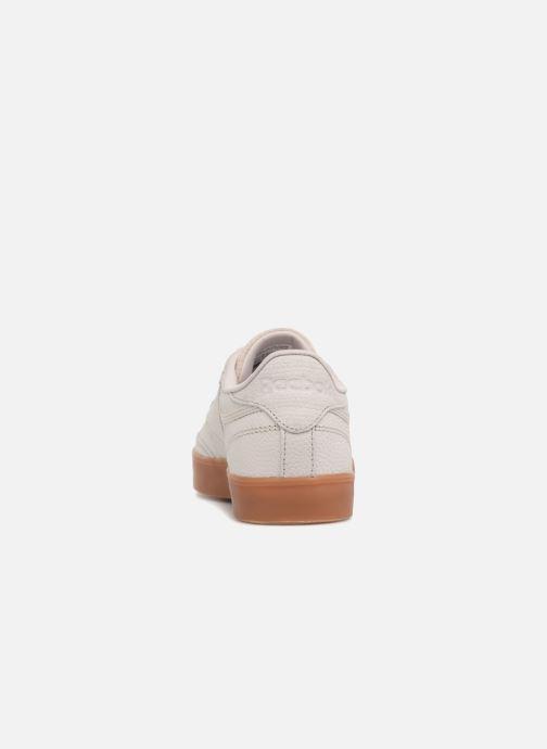 Sneakers Reebok Club C 85 Fvs Ps Desert Wit rechts