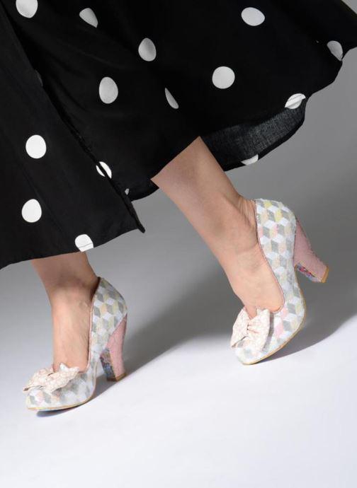 Zapatos de tacón Irregular choice NICK OF TIME W Rosa vista de abajo