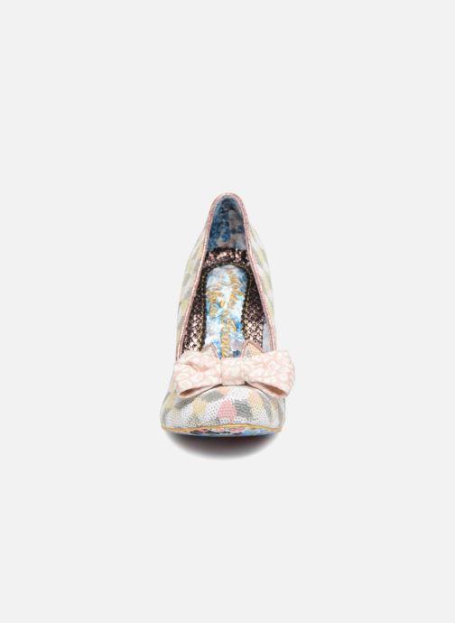 Escarpins Irregular Choice NICK OF TIME W Rose vue portées chaussures