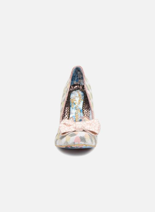 Zapatos de tacón Irregular choice NICK OF TIME W Rosa vista del modelo