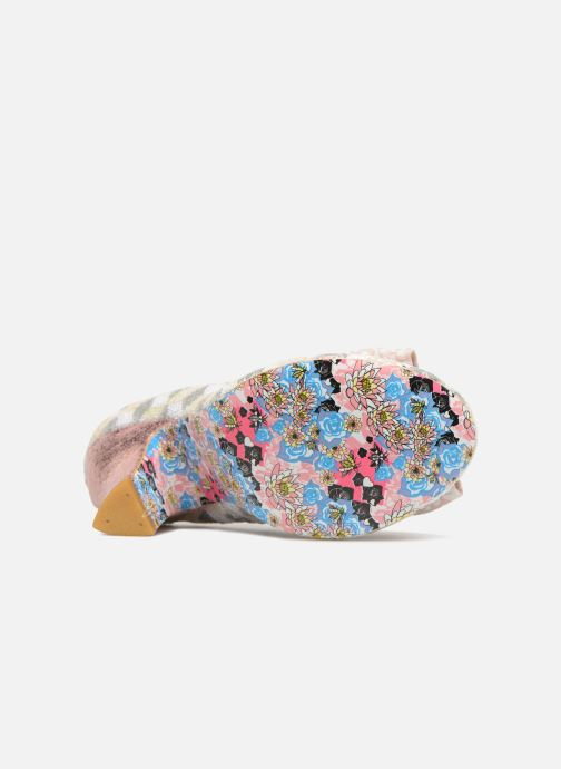 Zapatos de tacón Irregular choice NICK OF TIME W Rosa vista de arriba
