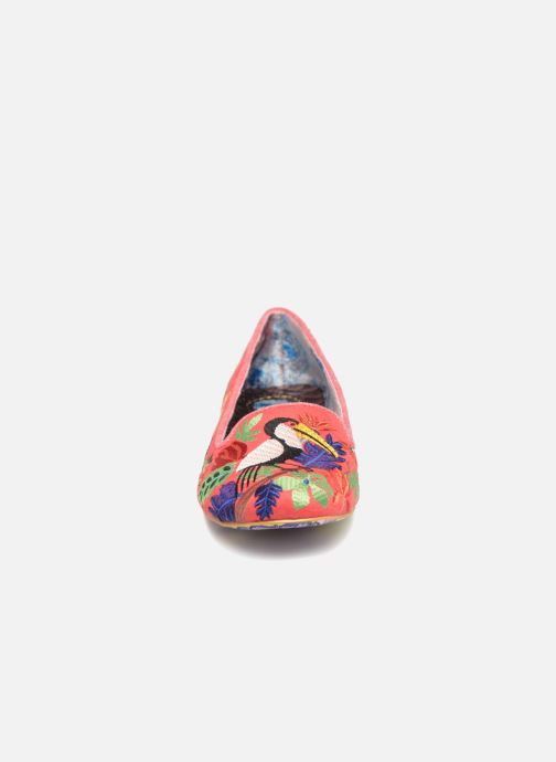 Mocassins Irregular Choice YES YOU PELICAN Multicolore vue portées chaussures
