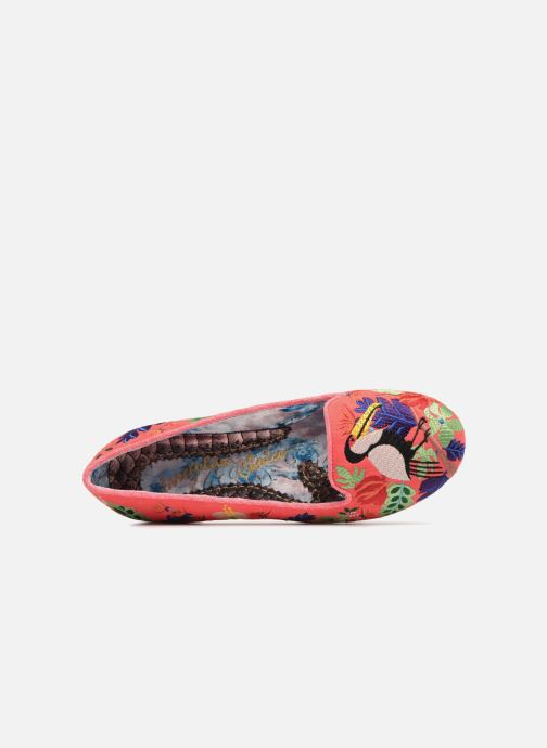 Mocassins Irregular Choice YES YOU PELICAN Multicolore vue gauche