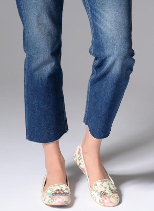 Loafers Irregular choice TESTUDO White view from underneath / model view