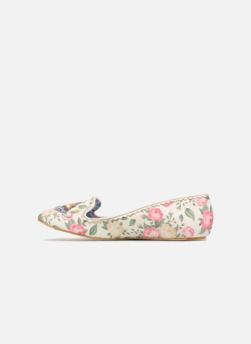 Loafers Irregular Choice TESTUDO Hvid se forfra