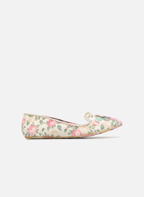Loafers Irregular Choice TESTUDO Hvid se bagfra
