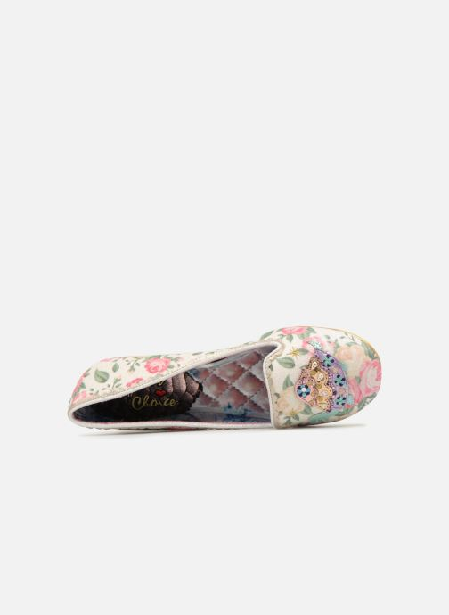 Mocasines Irregular choice TESTUDO Blanco vista lateral izquierda
