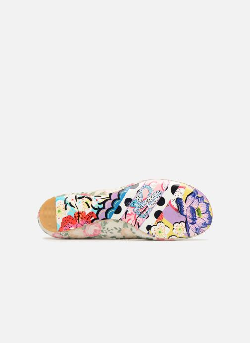 Mocasines Irregular choice TESTUDO Blanco vista de arriba