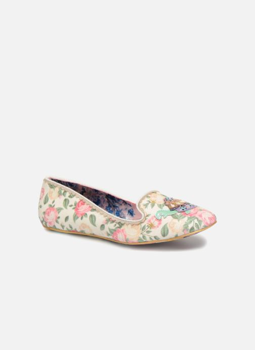 Loafers Irregular choice TESTUDO White detailed view/ Pair view