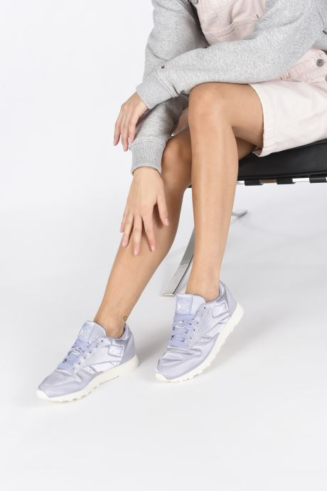 Satin Reebok Sneaker Classicleather 316081 lila Xxqzp5YT