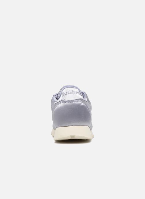 Baskets Reebok ClassicLeather Satin Violet vue droite