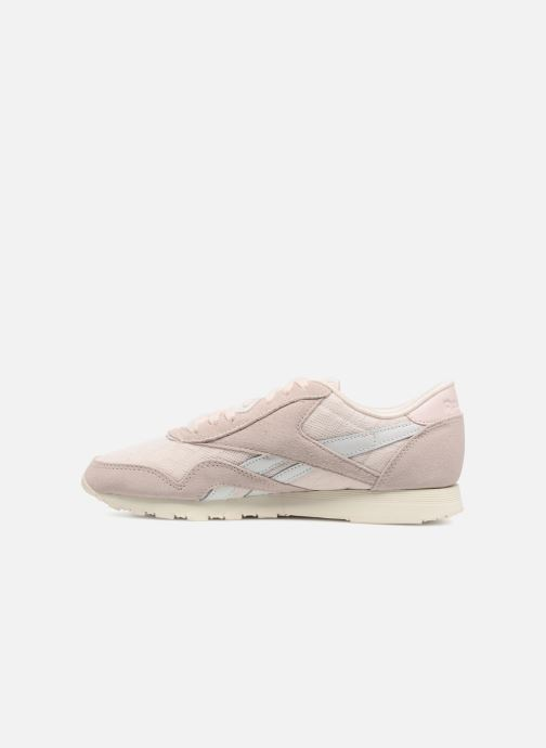 Baskets Reebok ClassicNylon Cold Pastel Rose vue face